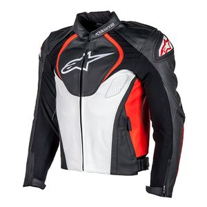 Blouson Alpinestars Jaws Black Red