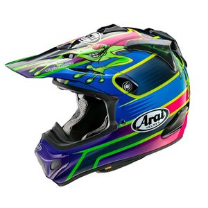 Casque cross MX-V - BARCIA FROG - REPLICA 2021 Multi