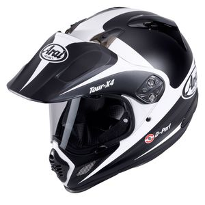 Casque TOUR-X 4 ROUTE WHITE  Blanc