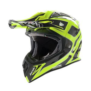 Casque cross AVIATOR 2.2 RIPPLE YELLOW GLOSS 2016 Jaune