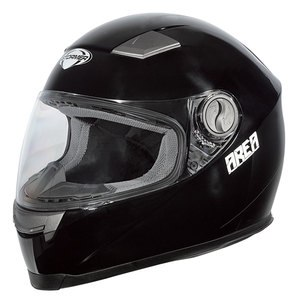 Casque AREA UNI BRILLANT  Noir