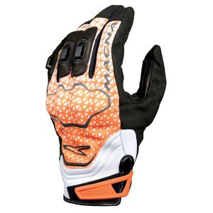 Gants ASSAULT  Noir/Orange
