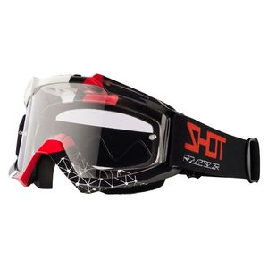 Masque cross ASSAULT BEYOND - BLACK RED GLOSSY 2021 Black Red
