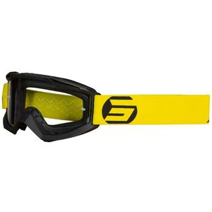 Masque cross Shot ASSAULT - SYMBOL - BLACK YELLOW MATT 2021