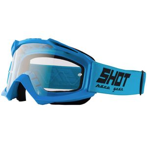 Masque cross ASSAULT - BLUE GLOSSY 2021 Blue