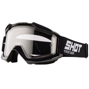 Masque cross ASSAULT ENDURO - BLACK GLOSSY 2021 Black