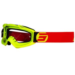 Masque cross Shot ASSAULT - SYMBOL - NEON YELLOW RED MATT 2021