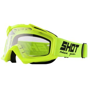 Masque cross ASSAULT - NEON YELLOW GLOSSY 2021 Yellow