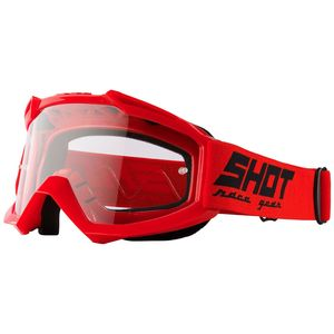 Masque cross ASSAULT - RED GLOSSY 2021 Red