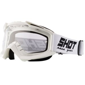 Masque cross ASSAULT WHITE GLOSSY 2021 White