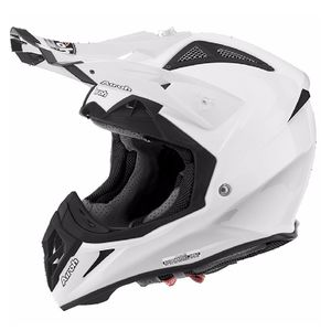 Casque cross AVIATOR 2.2 - COLOR  - WHITE 2019 Blanc