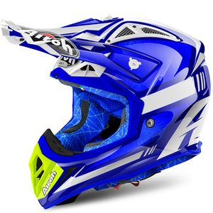 Casque cross AVIATOR 2.2 CAIROLI OTTOBIANO BLUE GLOSS 2018 Bleu
