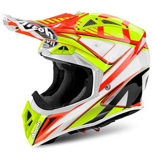 Casque cross AVIATOR 2.2 DOUBLE ORANGE GLOSS 2018 Orange