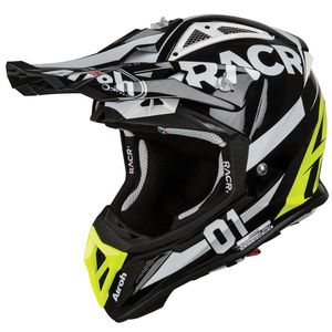 Casque cross AVIATOR 2.2 - RACR GLOSS 2019 Noir/Jaune