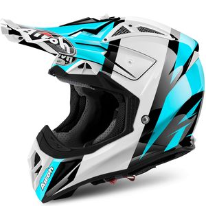 Casque cross AVIATOR 2.2 REVOLVE AZZURE GLOSS 2018 Bleu