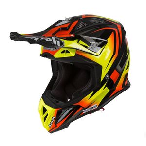 Casque cross AVIATOR 2.3 - FAME - ORANGE MATT - AMSS 2019 Orange/Noir