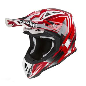 Casque cross AVIATOR 2.3 - FAME - RED GLOSS - AMSS 2019 Rouge/Noir