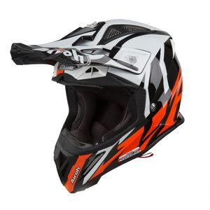 Casque cross AVIATOR 2.3 - GREAT - ORANGE GLOSS - AMSS 2019 Orange/Noir