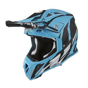 Casque cross AVIATOR 2.3 - GREAT - CYAN 2019 Bleu