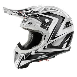 Casque cross AVIATOR 2.1 ARROW 2015 Blanc brillant