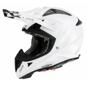Casque cross AVIATOR 2.1 - UNI 2014 Blanc Perlé