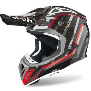 Casque cross AVIATOR 2.3 - GLOW - CHROME GREY - AMSS 2020 Chrome Grey