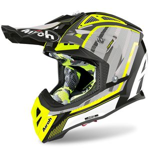 Casque cross AVIATOR 2.3 - GLOW - CHROME YELLOW - AMSS 2020 Chrome Yellow