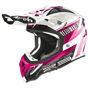 Casque cross AVIATOR 2.3 - NOVAK - CHROME PINK - AMSS 2020 Chrome Pink