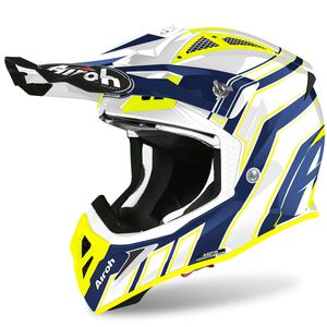 Casque cross AVIATOR ACE - ART - BLUE GLOSS 2021 Blue