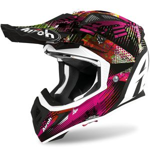 Casque cross AVIATOR ACE - INSANE - MATT 2021 Multicolore