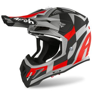 Casque cross AVIATOR ACE - TRICK - RED MATT 2021 Red