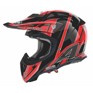 Casque cross AVIATOR DECO VIPER 2013 Rouge