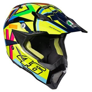 Casque cross AX-8 EVO - SOLELUNA 2019 Multicolore