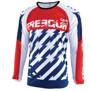 Maillot cross DEVO KID - OUTLAW - BLUE RED  Blue Red