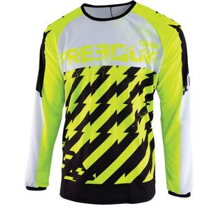 Maillot cross DEVO KID - OUTLAW - NEON YELLOW  Neon Yellow