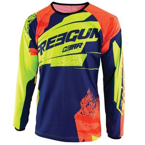 Maillot cross DEVO KID - HERO - BLUE NEON YELLOW  Blue Neon Yellow
