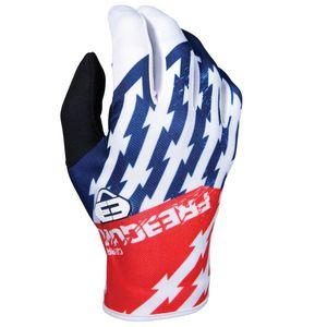 Gants cross DEVO KID - OUTLAW - BLUE RED  Blue Red