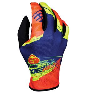 Gants cross DEVO KID - HERO - BLUE NEON YELLOW  Bleu