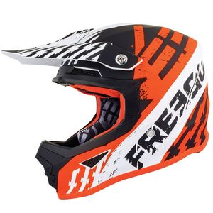 Casque cross XP4 - OUTLAW - NEON ORANGE MATT 2019 Neon Orange Matt