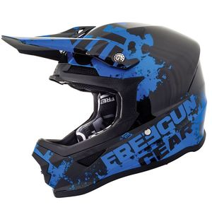 Casque cross XP4 - FOG - CHROME BLUE GLOSSY 2019 Chrome Blue Glossy