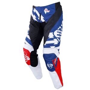 Pantalon cross DEVO KID - OUTLAW - BLUE RED  Blue Red