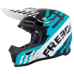 Casque cross XP4 KID - OUTLAW - FRESH BLUE GLOSSY  Fresh Blue Glossy
