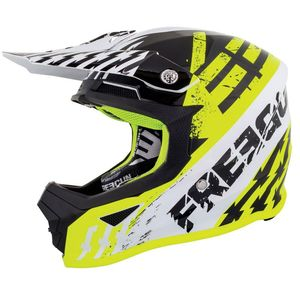 Casque cross XP4 KID - OUTLAW - NEON YELLOW GLOSSY  Neon Yellow