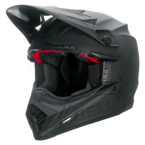 Casque cross MOTO-9 CARBON FLEX - MATTE SYNDROME NOIR - 2021 Noir/Gris