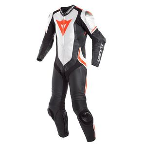 Combinaison LAGUNA SECA 4 PERFORATED - 1 PCE - BLACK WHITE FLUO RED  Black/White/Red