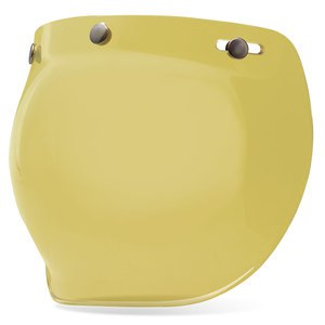 Ecran casque BUBBLE - CUSTOM 500  Jaune
