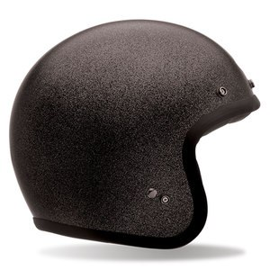Casque CUSTOM 500 - BLACK FLAKE  Noir mat