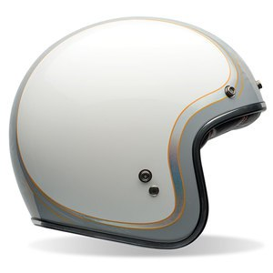 Casque CUSTOM 500 - HEADCASE CUEBALL  Blanc/Gris
