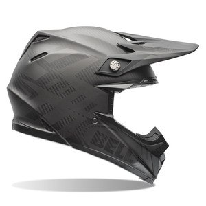 Casque Cross Bell Moto-9 Carbon Flex - Matte Syndrome Noir - 2018