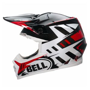 Casque cross MOTO-9 CARBON FLEX - SYNDROME ROUGE - 2017 Rouge/Blanc